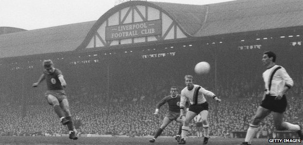 Anfield in 1965
