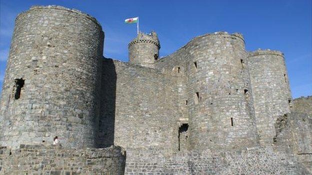 Castell Harlech, Gwynedd
