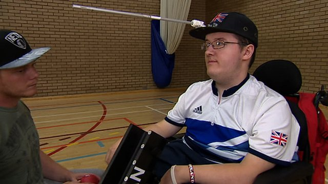 Boccia player Scott McCowan knows that the sport has made a massive difference to his life.