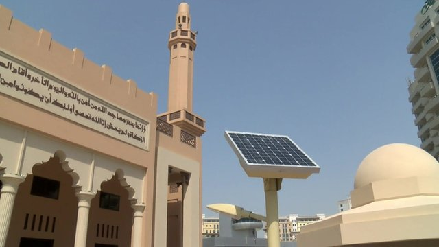 A tour of Dubai's eco-friendly mosque