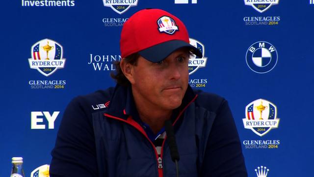 USA golfer Phil Mickelson