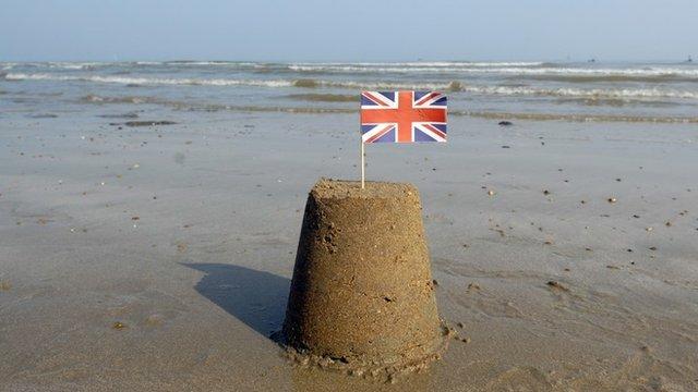 A sand-castle