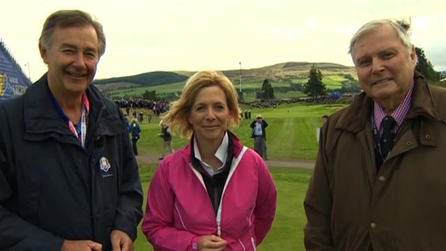 Ken Brown, Hazel Irvine and Peter Alliss look ahead to the 2014 Ryder Cup