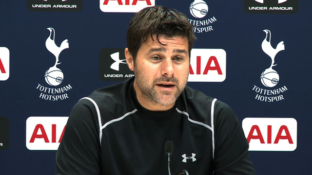 Tottenham Hotspur boss Mauricio Pochettino says he is excited by the prospect of his first North London derby