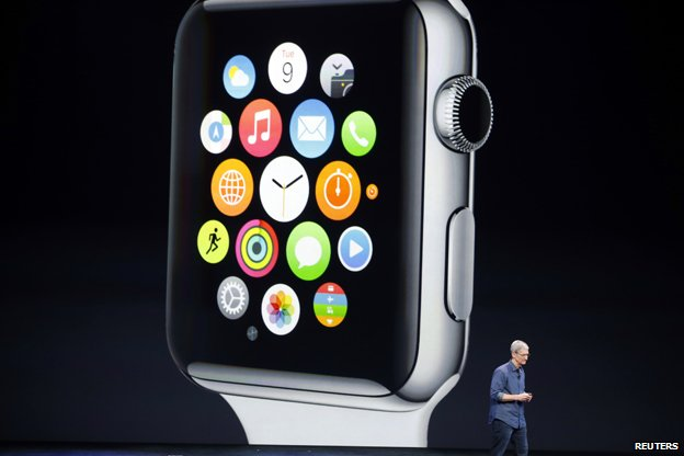 Apple watch unveiled at Cupertino, earlier this month
