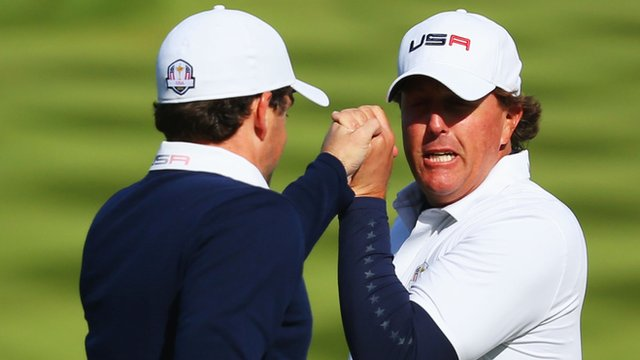 Ryder Cup 2014: Americans win 18th hole to steal match