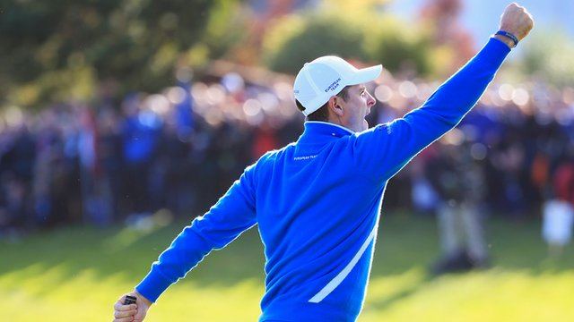 Ryder Cup 2014: American three-putt hands Europe win