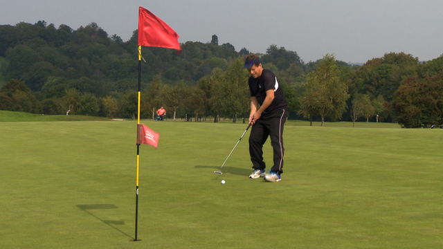 What happens when you speed up golf?