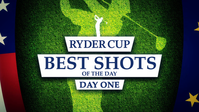 Ryder Cup 2014: Best shots of day one