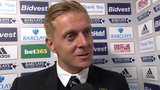 """Manager Garry Monk credits Swansea's """"character"""""""