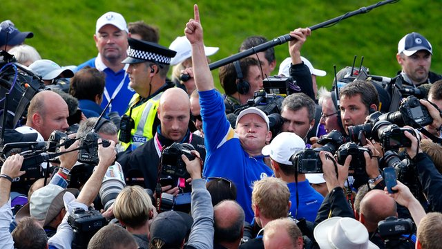 Ryder Cup 2014: Day three in three minutes