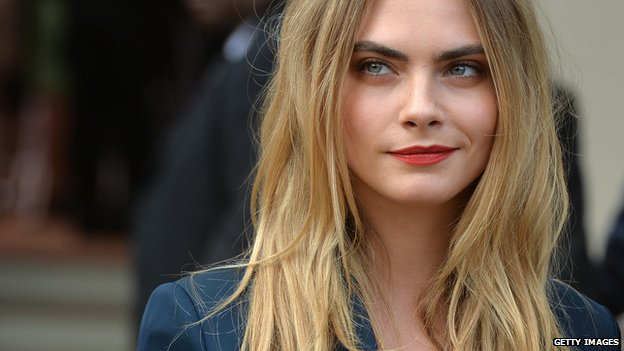 Naked photos of model Cara Delevingne have reportedly been leaked.