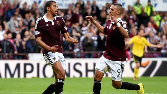 Highlights - Hearts 5-0 Livingston