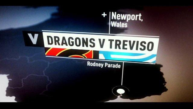 Dragons v Treviso