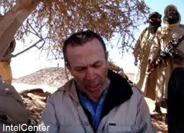 British hostage Edwin Dyer