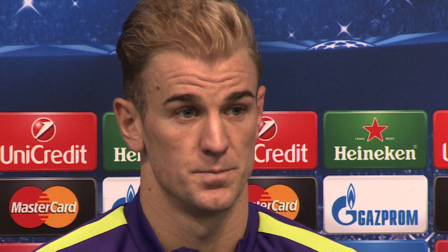 """Manchester City goalkeeper Joe Hart will keep """"fighting"""" for his place"""
