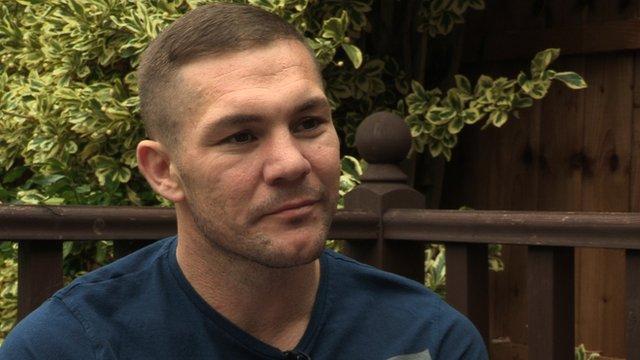 Boxing trainer Jamie Moore