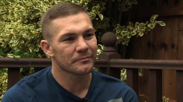 Former boxer Jamie Moore