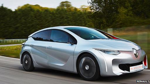 Renault's Eolab concept car
