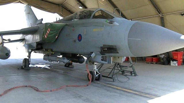 Tornado from RAF Marham in Afghanistan