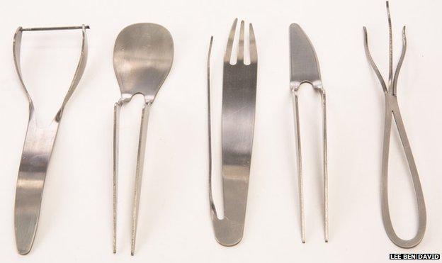 Lee Ben David's cutlery