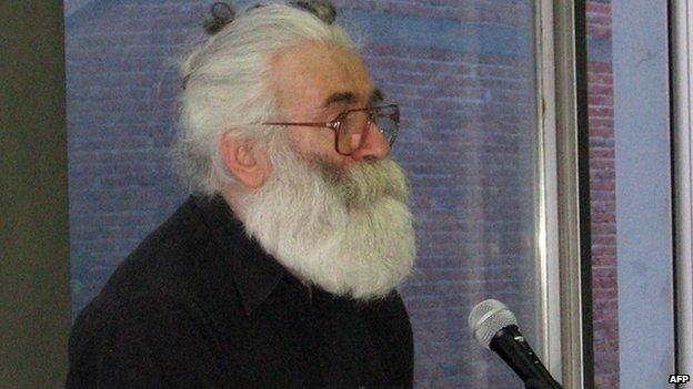 Undated photo of Radovan Karadzic