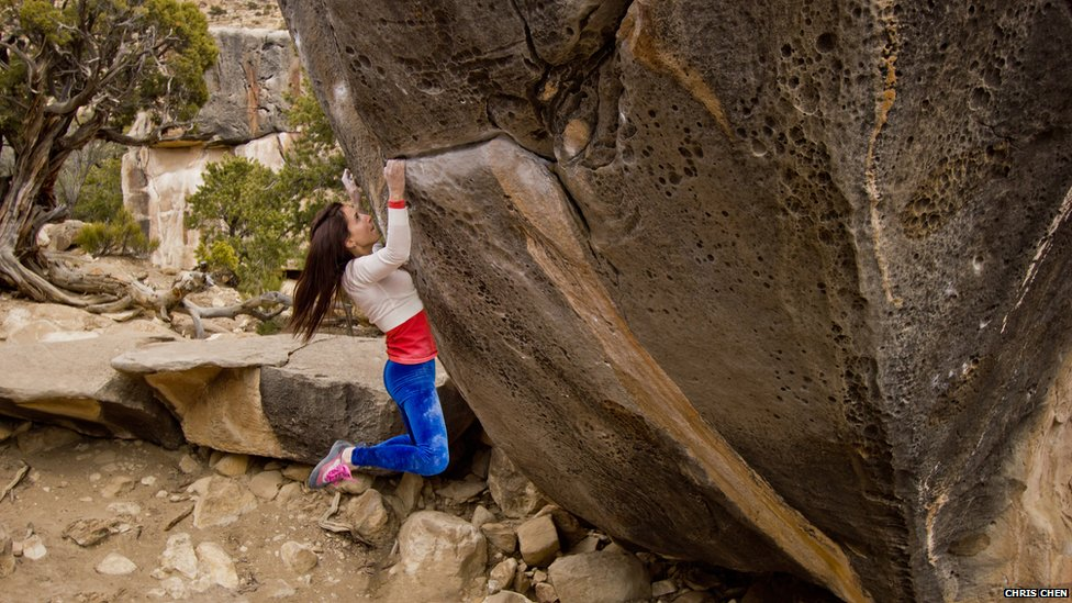 French climber Caroline Sinno