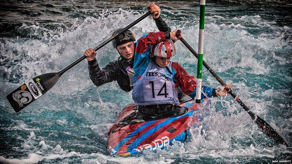 Canoeing trials