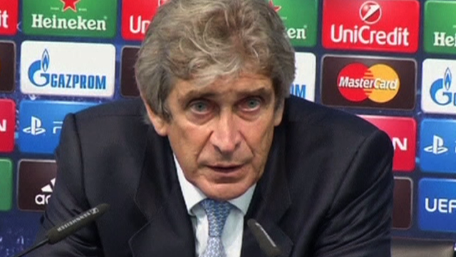 """Manuel Pellegrini says Manchester City will """"fight to the end"""" to qualify"""