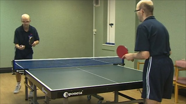 Table-tennis twins