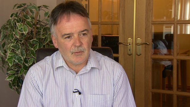 Kieran Megraw, brother of Brendan, said the family had mixed feelings about the discovery of a body