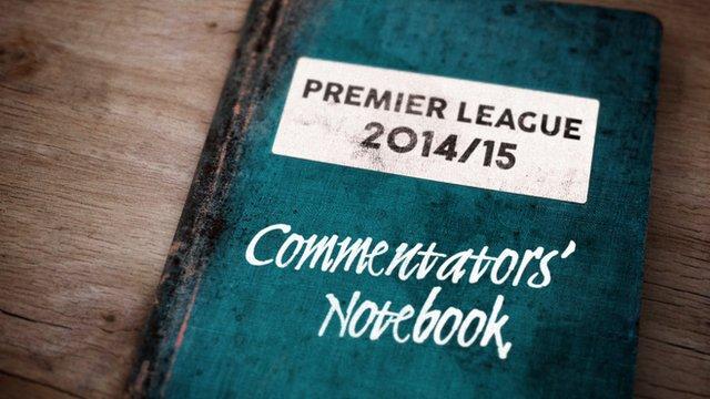 Commentators' notebook