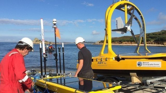 Seven autonomous machines are being released in a trial heralded as a new era of robotic research at sea