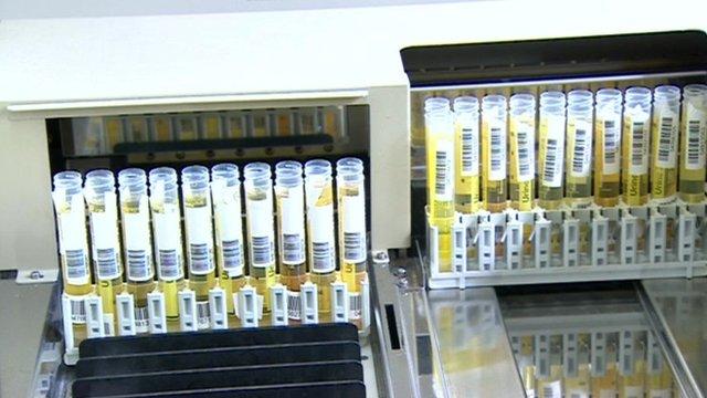 Drug test samples