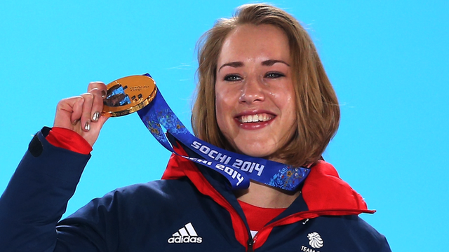 Lizzy Yarnold wins Olympic skeleton gold for Team GB at Sochi 2014