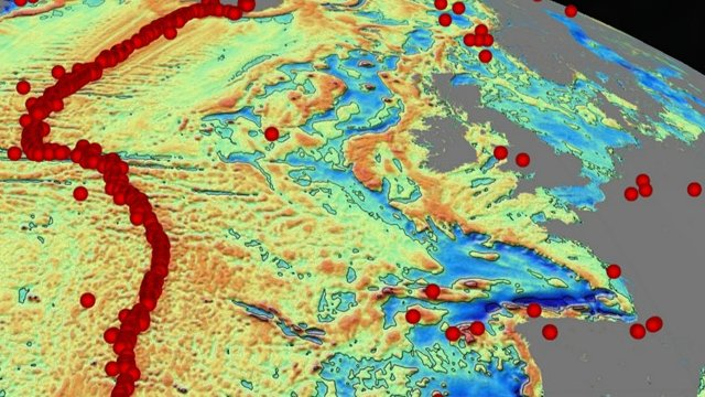 Dietmar Müller: We know much more about the topography of Mars than we know  about the seafloor