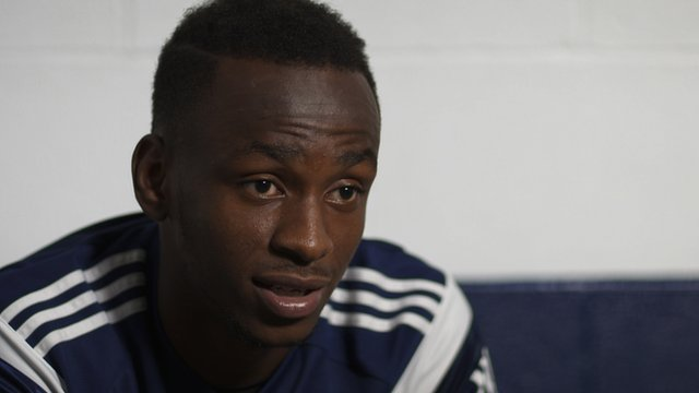 West Brom's Saido Berahino says football made him a man
