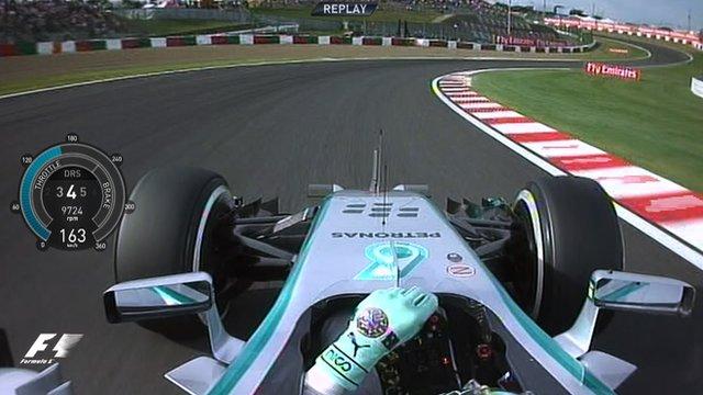 Mercedes' Nico Rosberg takes pole in Japan Grand Prix