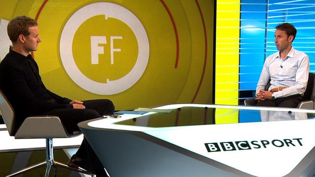 England Under-21's manager Gareth Southgate joins Dan Walker on Focus Forum