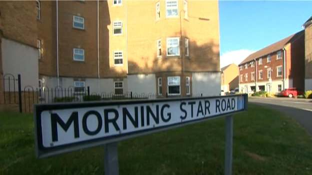 General view of Morning Star Road