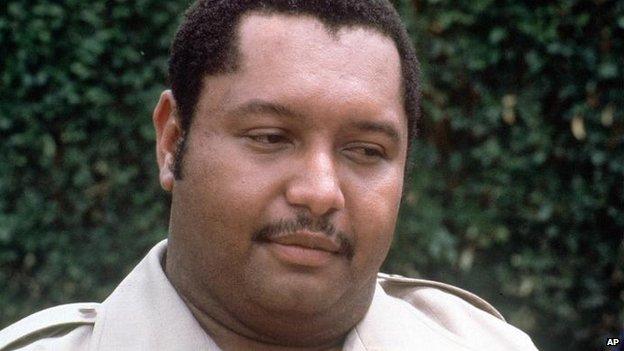 Duvalier in 1980