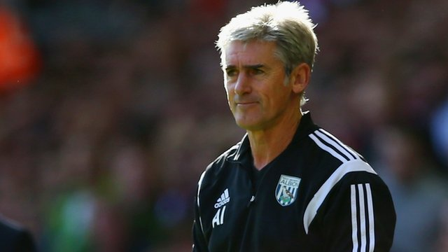 West Bromwich Albion manager Alan Irvine
