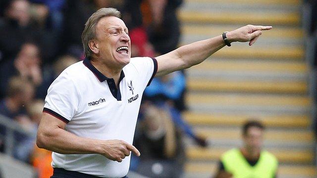 Hull City 2-0 Crystal Palace: Warnock questions referee consistency