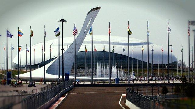 Sochi's Bolshoy Ice Dome