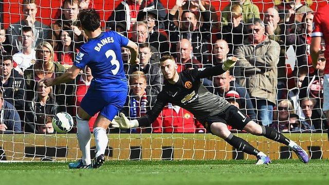 Man Utd 2-1 Everton: David de Gea says penalty was pick of saves