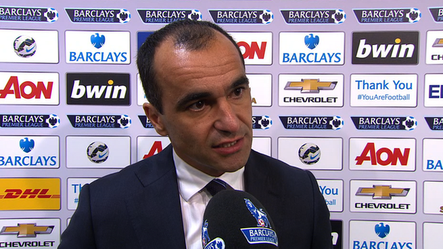 Man Utd 2-1 Everton: Martinez says loss down to small margins