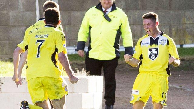 St Mirren match-winner Adam Drury