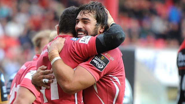 Scarlets 26-13 Dragons
