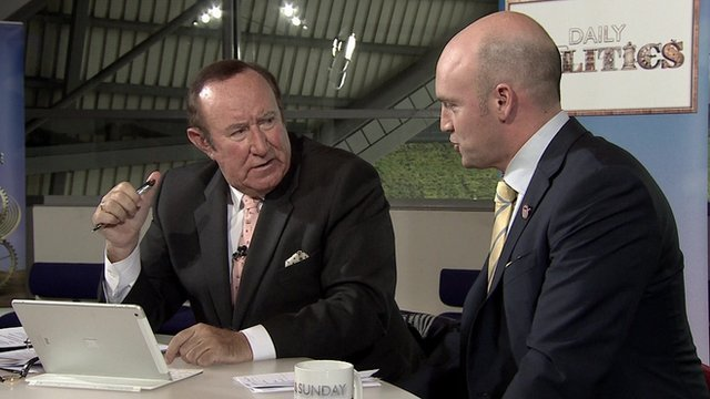 Andrew Neil and Steve Bradley