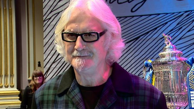 Interview - Scottish comedian Billy Connolly